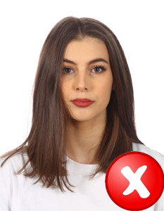 zdjęcie do dowodu włosy